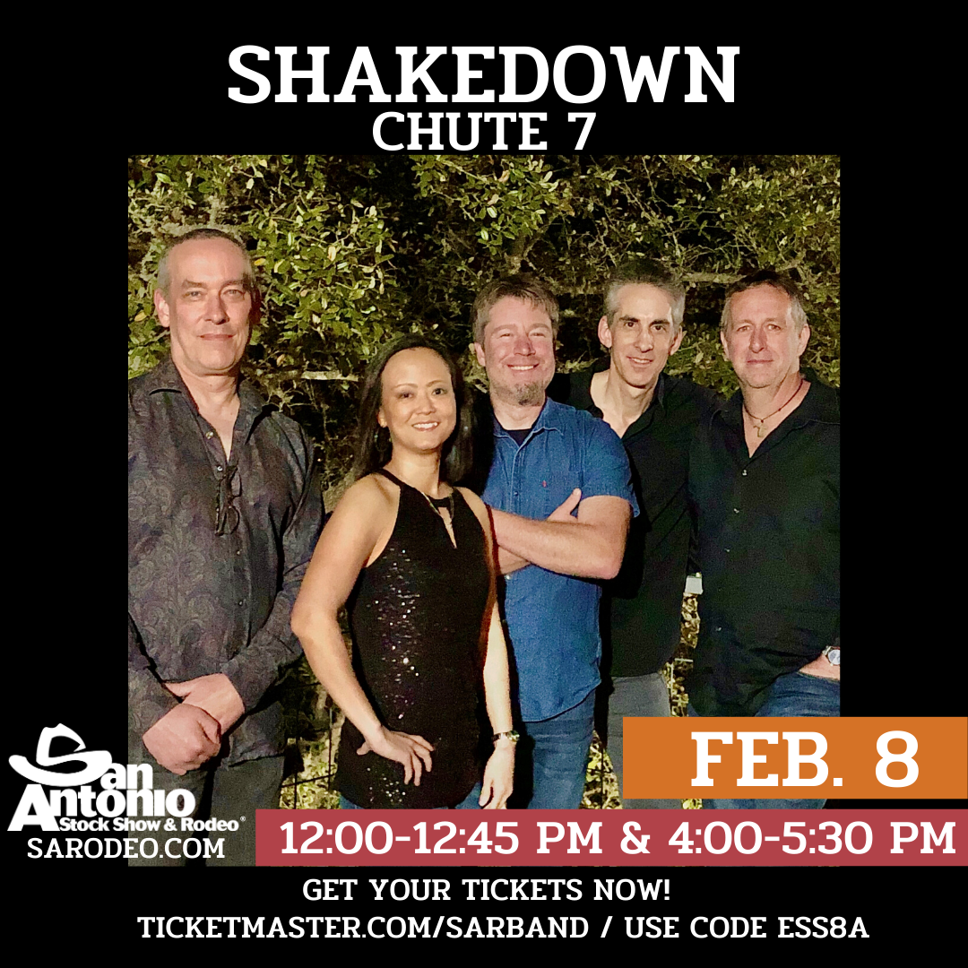 Rock, Motown, Soul Revue - Variety Dance Party Cover Band Shakedown - San Antonio Rodeo