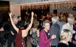 The Boomer's crowd enjoyed ringing in the New Year with Shakedown!